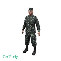 ukrainian soldier 2014 3D model