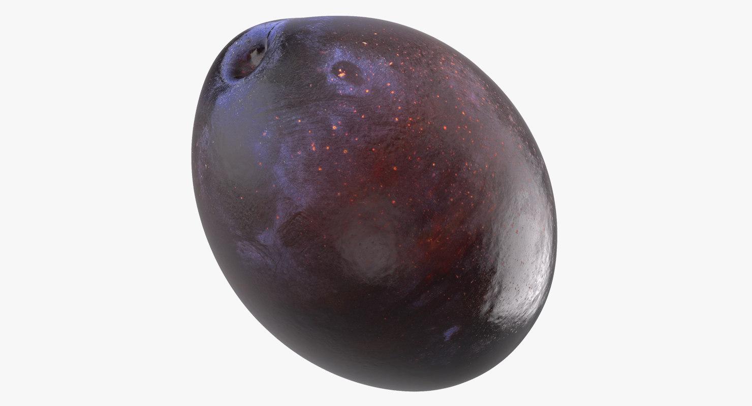 blue plum 3D