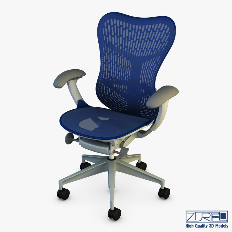 mirra 2 chair herman miller 3D model