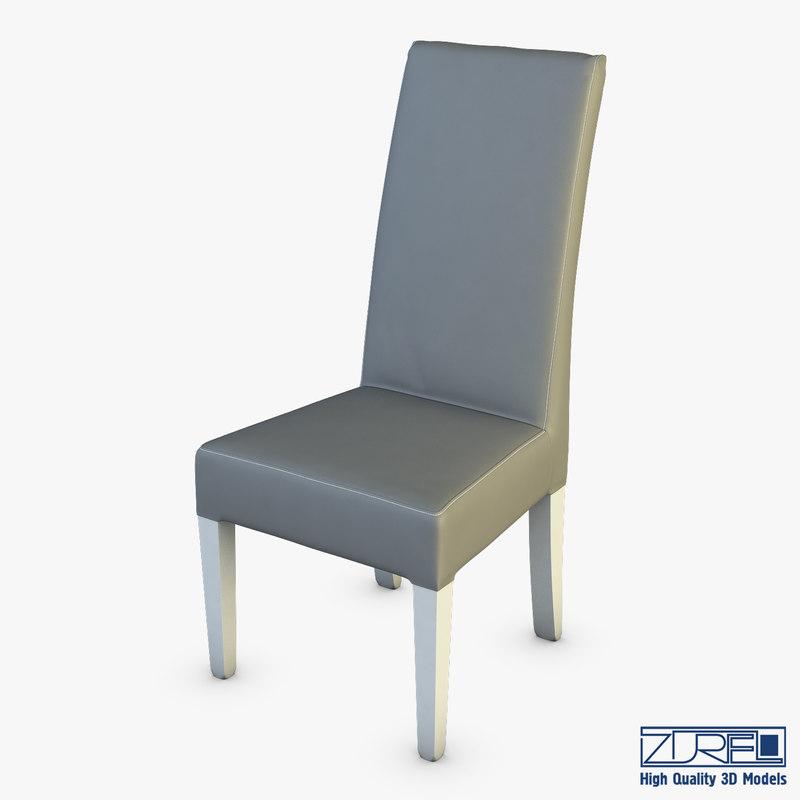 3D capri chair model