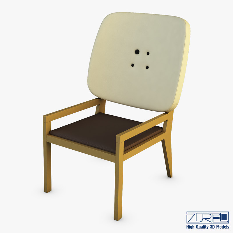 3D manga chair