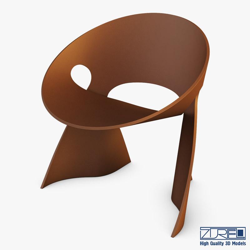 mobius chair frans schrofer 3D