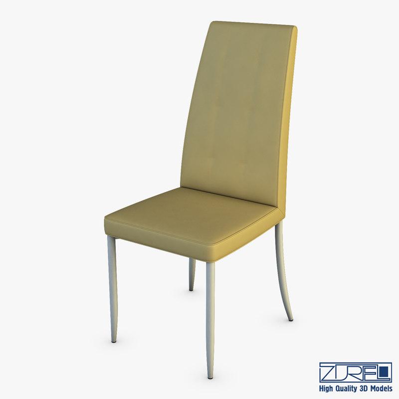nelio chair 3D model