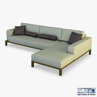 milano sofa 3D model