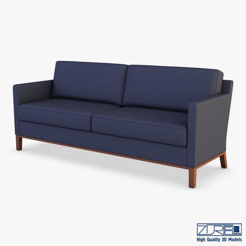3D km-classic sofa model