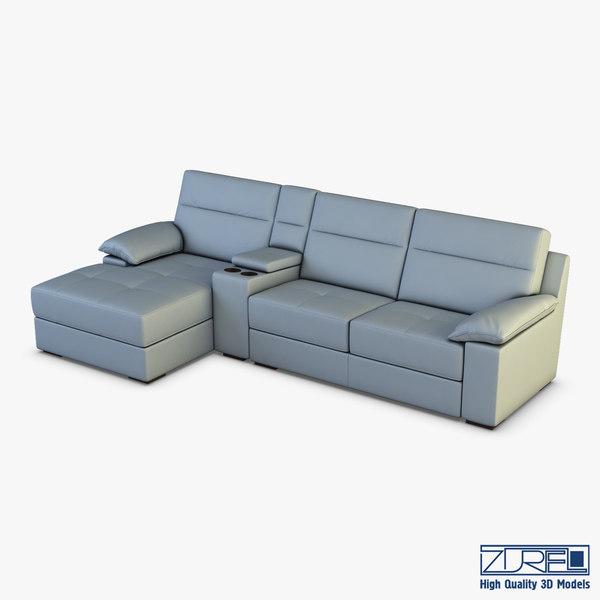 3D oviso sofa