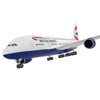 airbus a380 giant polygonal 3D