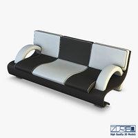 3D chess sofa model