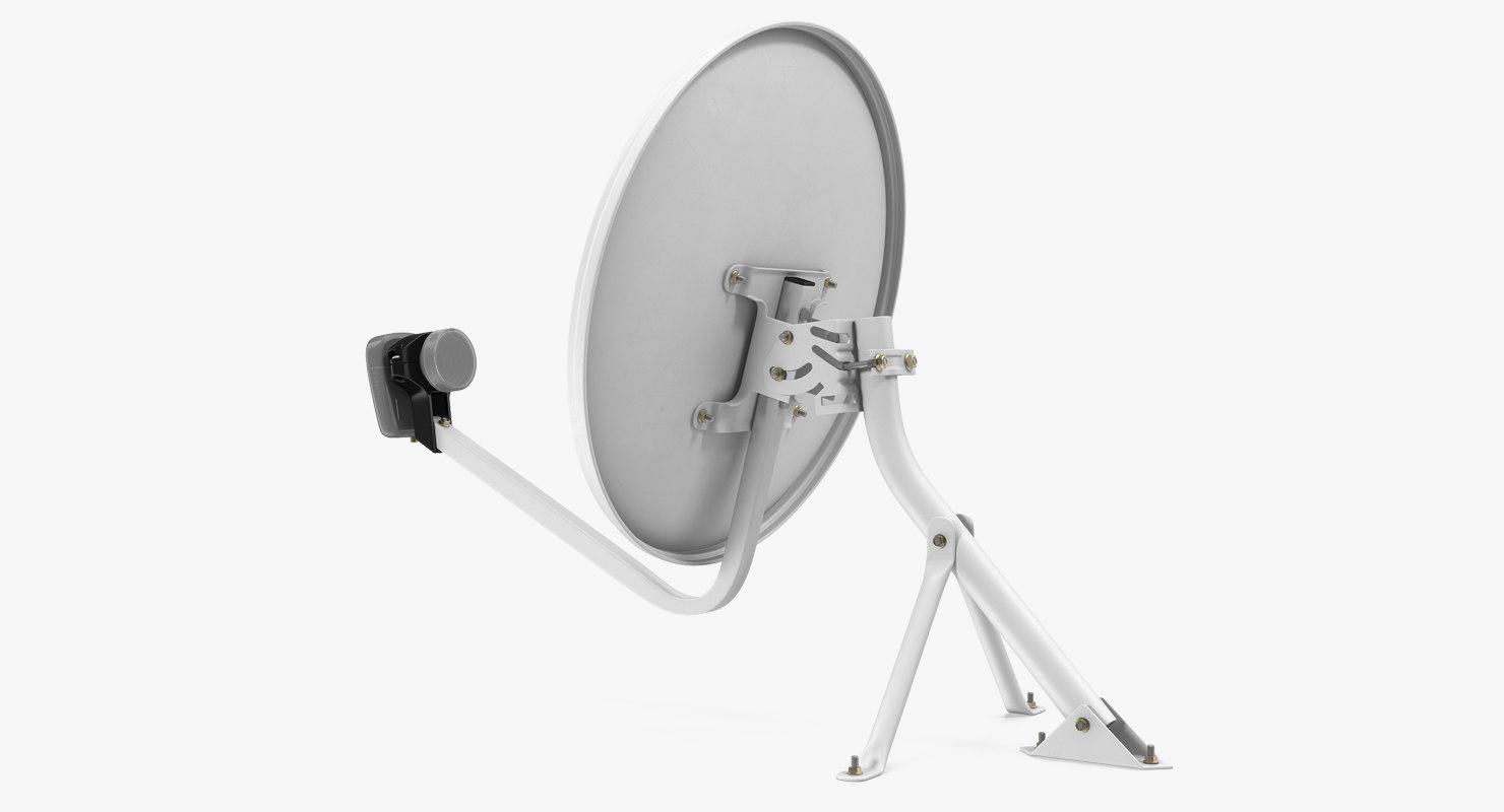 3D home satellite dish