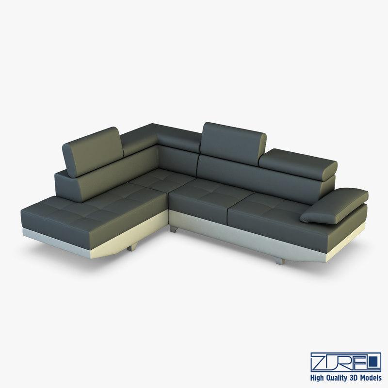 pinati sofa 3D