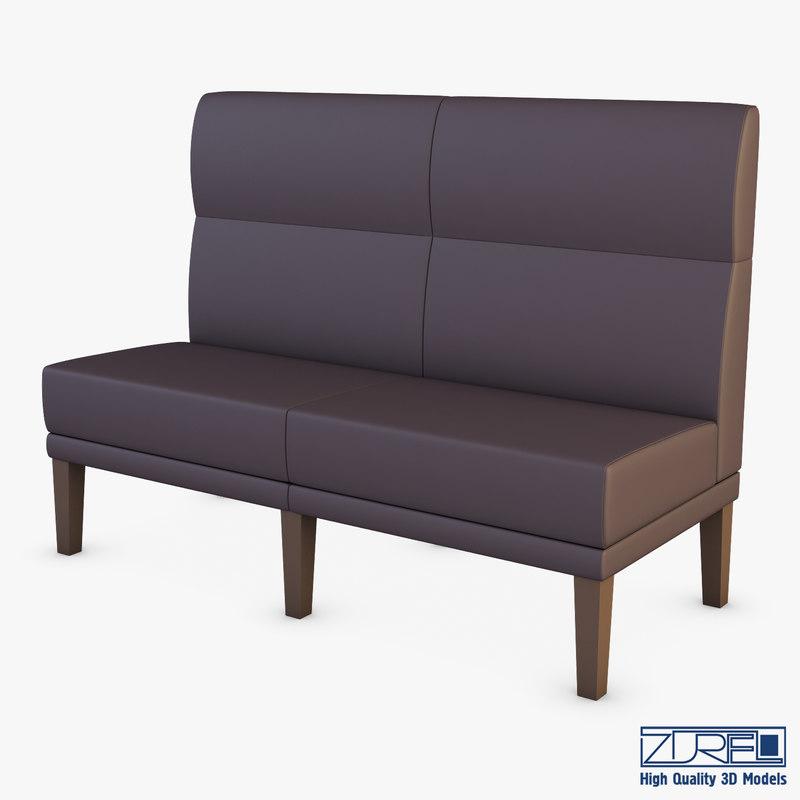 cu6379 sofa 3D model