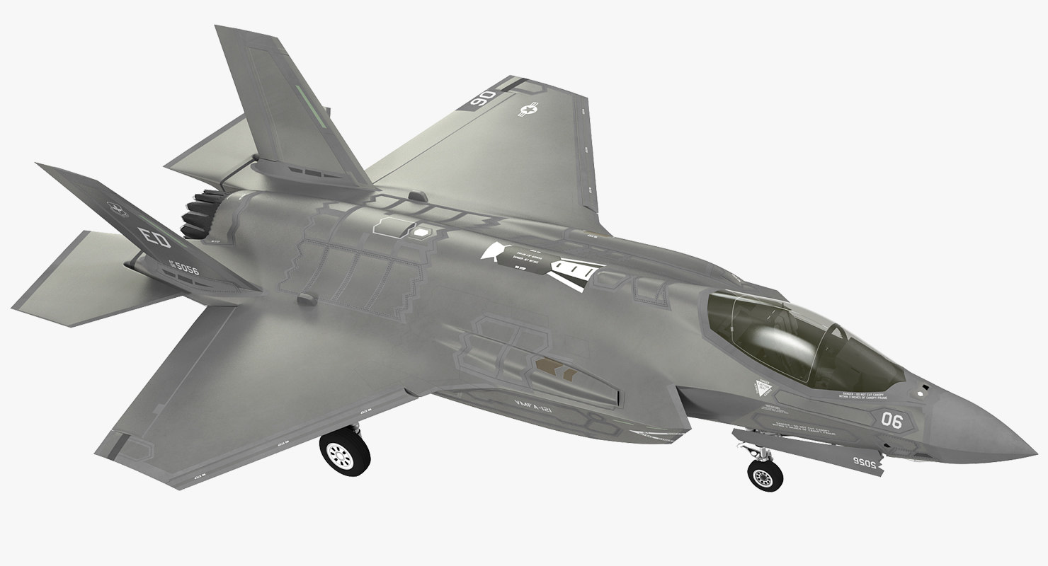 3D stealth multirole fighter f 35