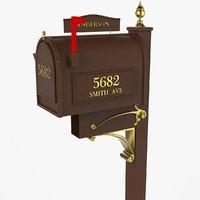 u s mail box model