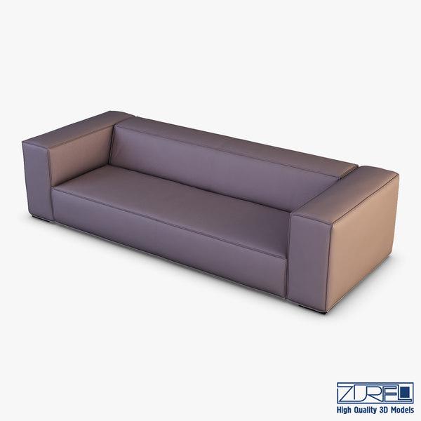 3D crub sofa