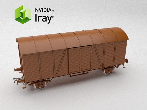 3D train iray