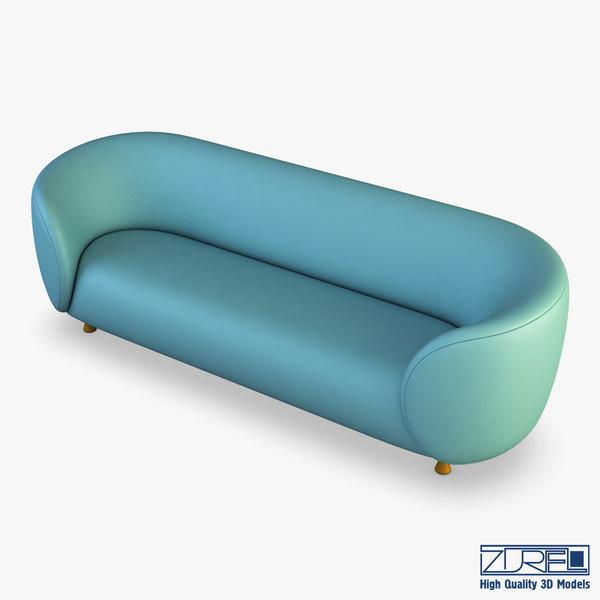 ovalio sofa model