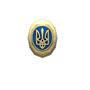 3D ukrainian trident