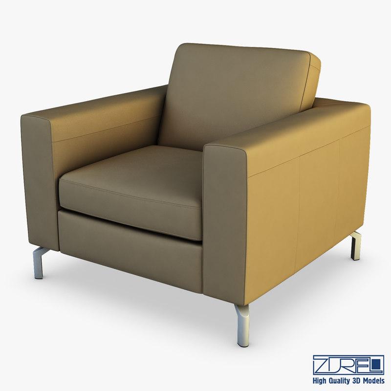 krego armchair 3D