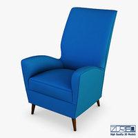 paire fauteuils 1950 paolo model