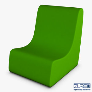 serenity chair 3D model