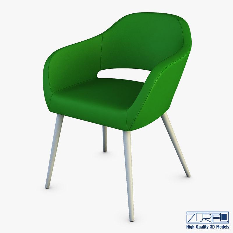 3D model utopia chair