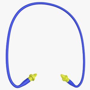 protective ear caps 3D model