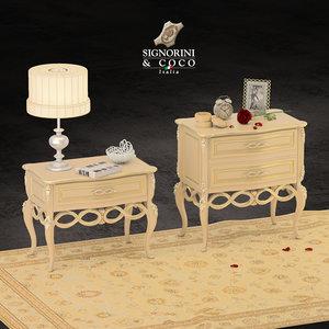 3D signorini coco - nightstand