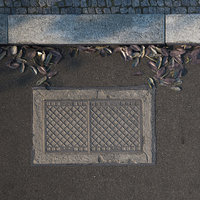 3D manhole cover