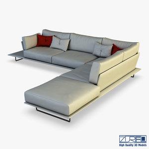 vessel sofa v 1 model