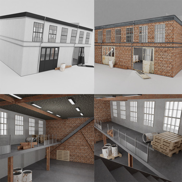 fps building factory model