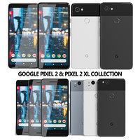 3D model realistic google pixel 2