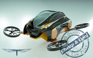 3D car copter