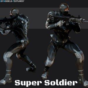 3D super soldier