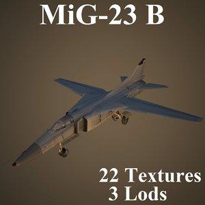 mikoyan multipurpose fighter 3D model