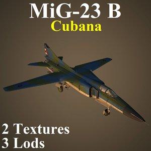 3D mikoyan cub model