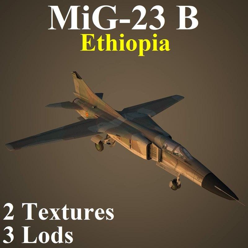 3D mikoyan eph fighter