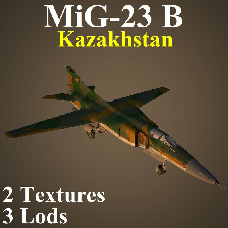 mikoyan kaz fighter 3D