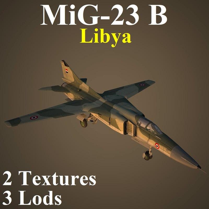 3D mikoyan liv fighter
