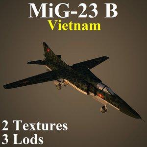 3D model mikoyan vie fighter
