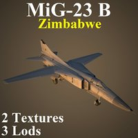 mikoyan zim fighter 3D model