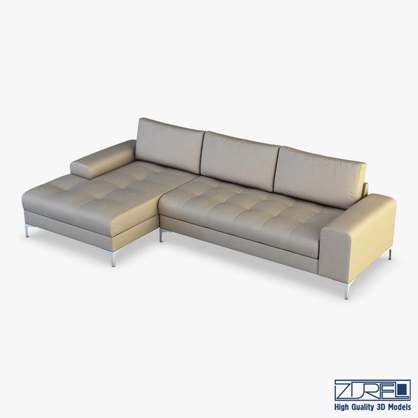monaco sofa 3D model