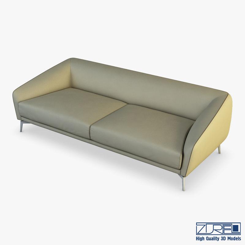 land sofa 3D model