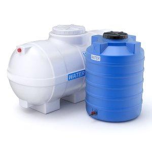 3D plastic storage tank