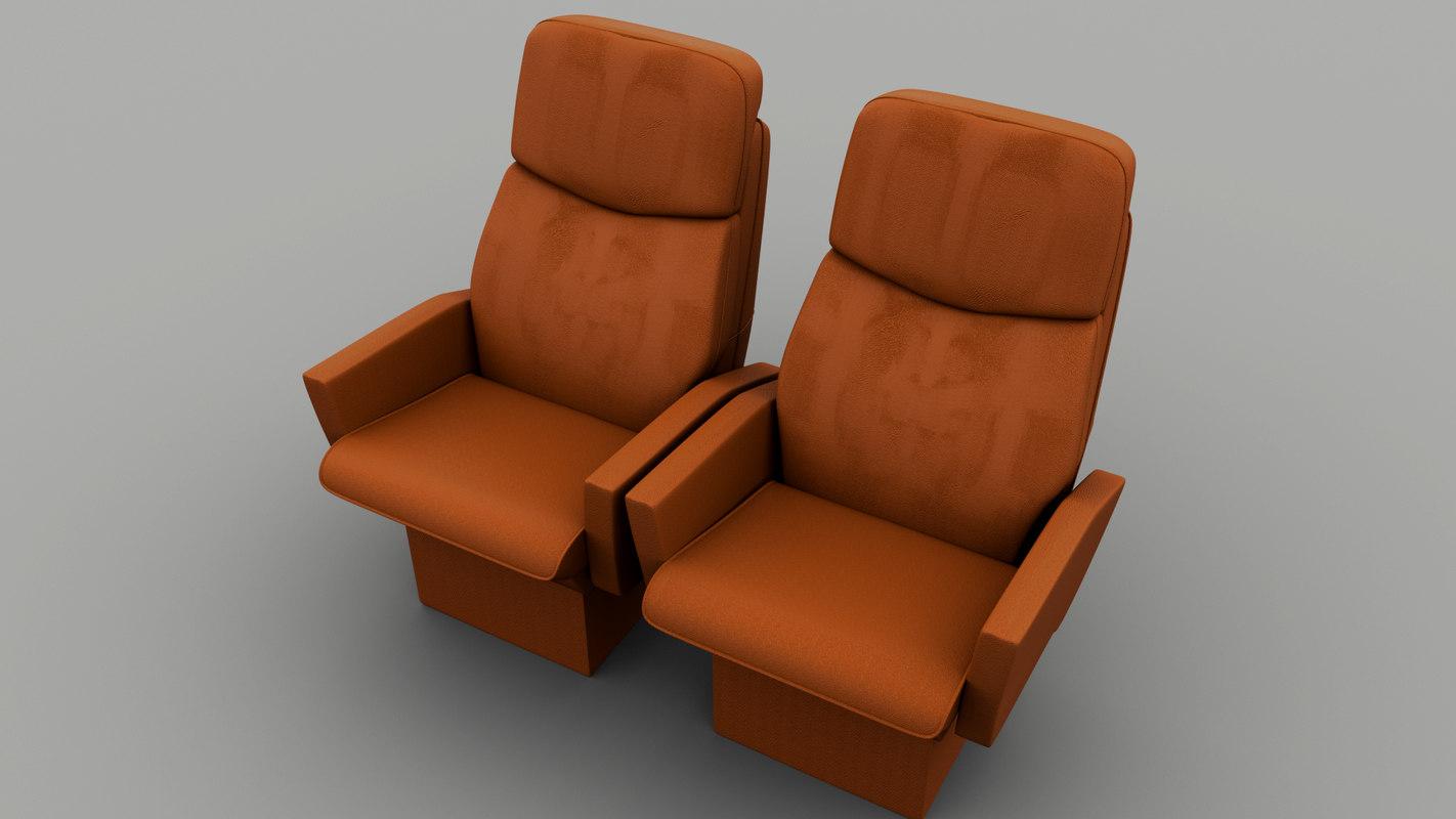 recliner armchair 3d model