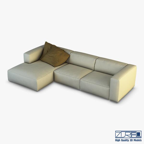 3D rossi sofa