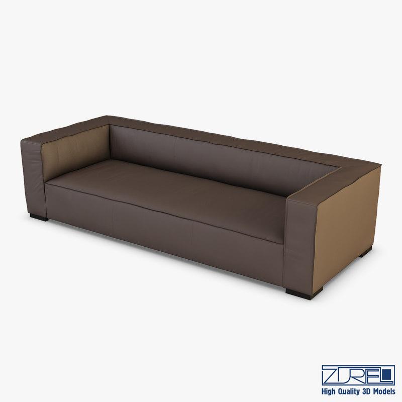 belluchi sofa 3D model