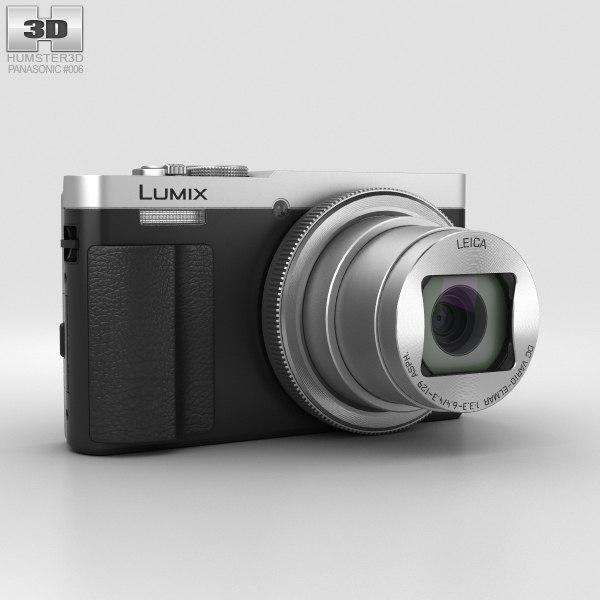 3D model panasonic dmc-tz70 lumix