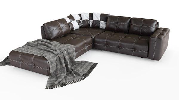 sofa leonardo 3D model