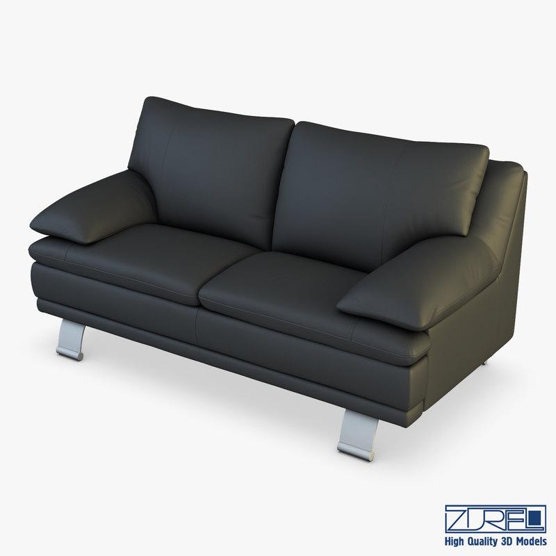 u118 sofa v 2 3D model