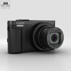 3D panasonic dmc-tz70 lumix model